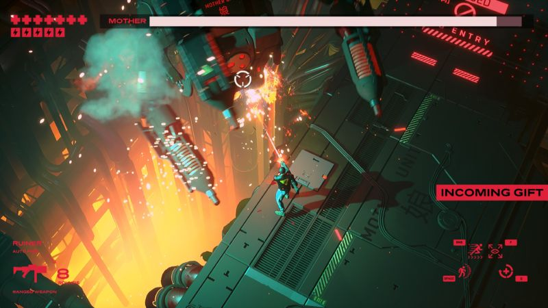 Ruiner review: Cyberpunk bloodbaths have never been prettier