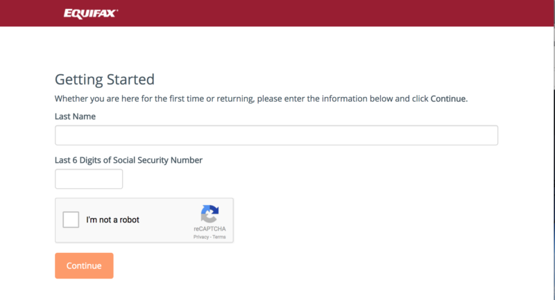 Equifax's site for enrolling in credit report security has gotten off to a bumpy start after the company's massive breach.