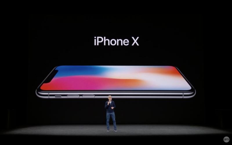 Apple's radically different smartphone is called the iPhone X
