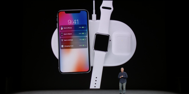 """photo image Apple's AirPower charging mat delayed until fall due to """"technical hurdles"""""""