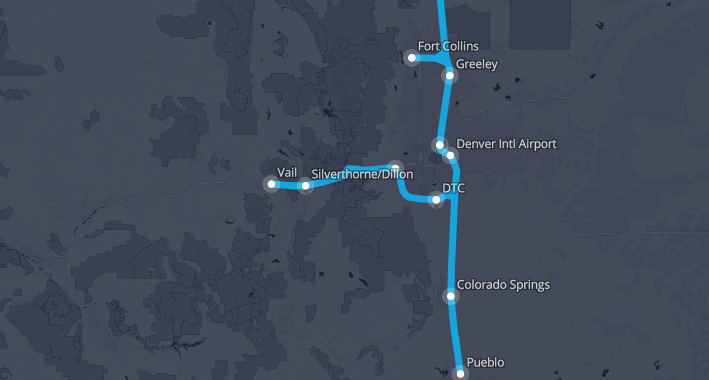 Hyperloop One announces 10 routes it will study partners with