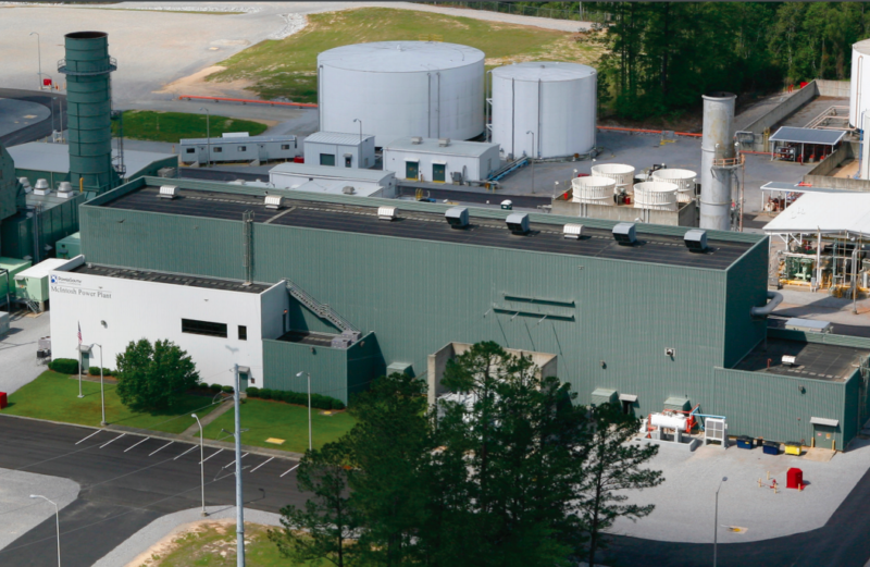 This 110MW non-adiabatic compressed air plant in McIntosh, Alabama, has been operating since 1991.
