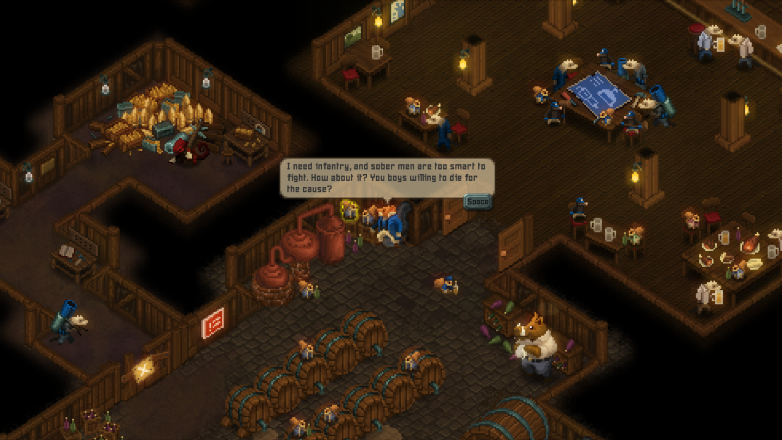 Tooth and Tail review: Delightful, rodent-riddled StarCraft