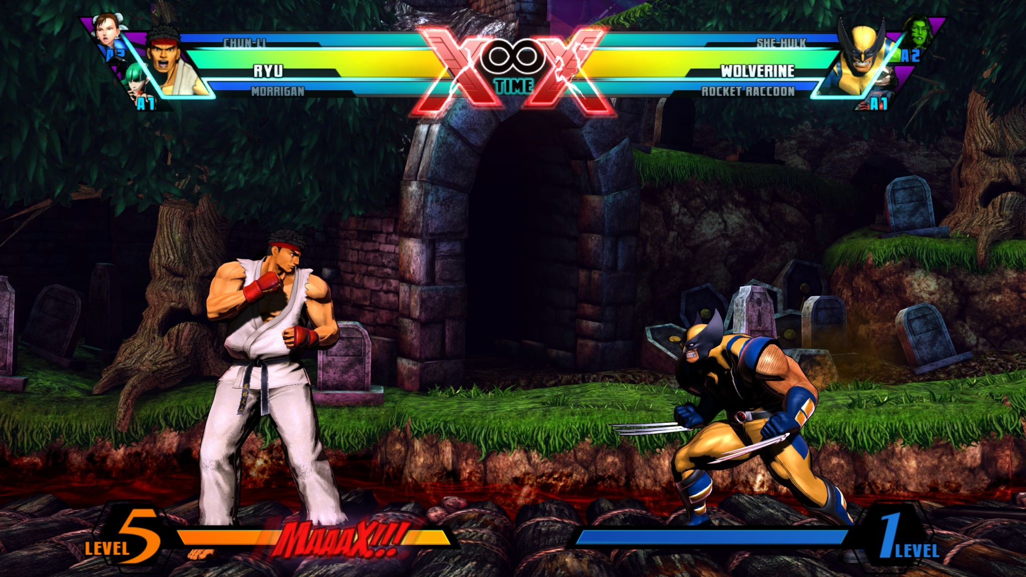 <em>Marvel vs. Capcom 3</em>'s graphics had a comic book shaded quality that helped them feel more like the original sprite art.