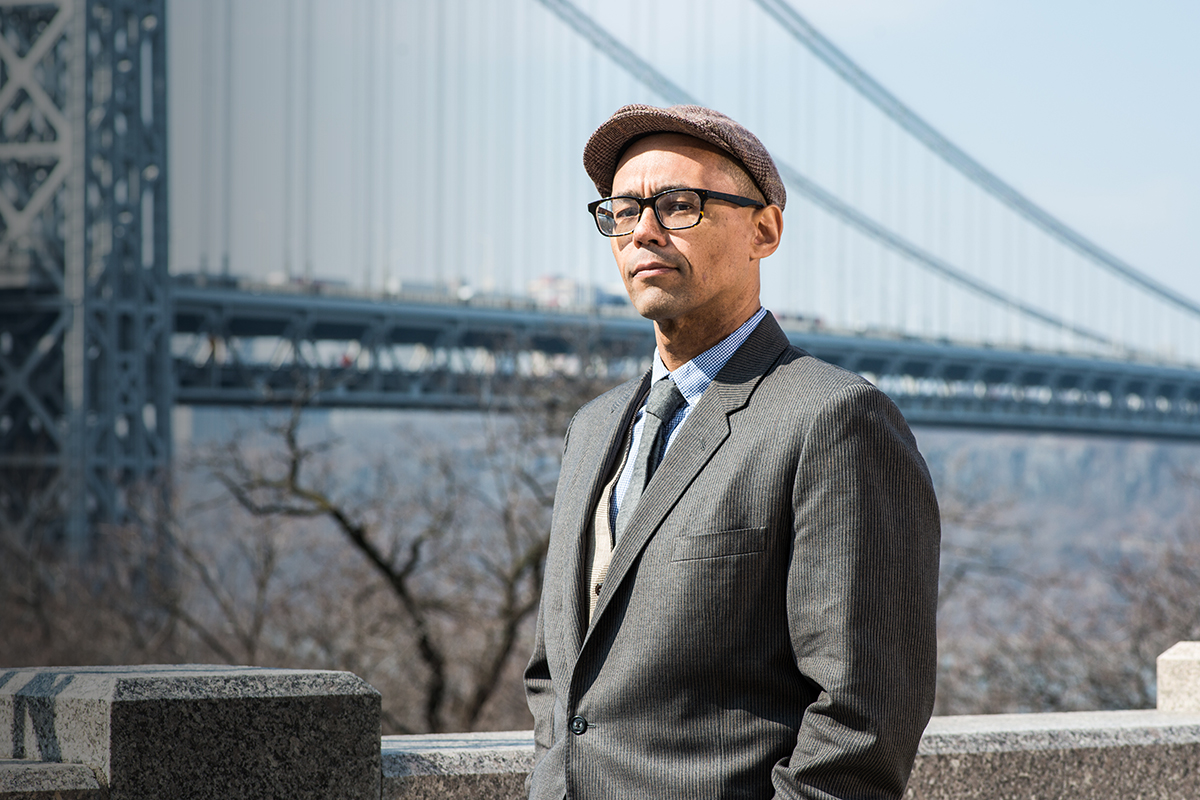 Author Victor LaValle.