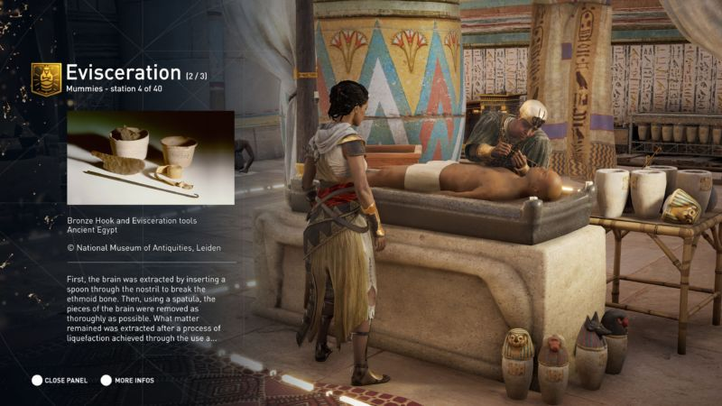 Why kill thousands of bad guys when you can explore the world of <em>Assassin's Creed: Origins</em> as a combat-free museum?