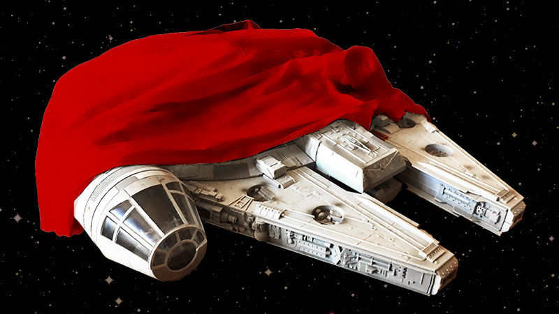 A clean and shiny Millennium Falcon is coming to the Han Solo spinoff film