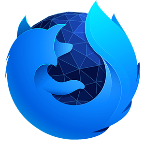 The Firefox Developer Edition logo shows a rather blue firefox.