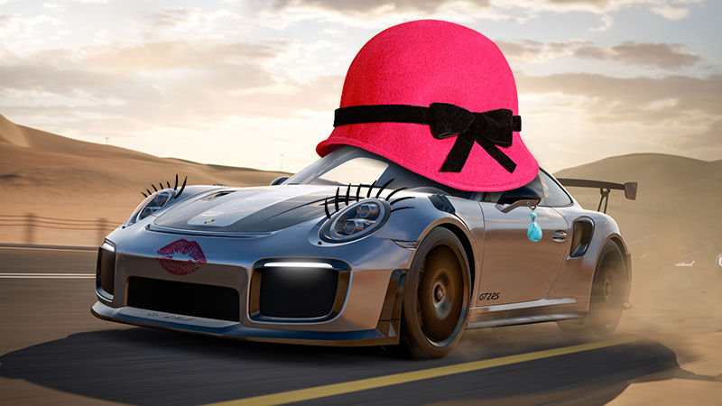 This is <em>not</em> the way loot boxes work in the Xbox/Windows exclusive <em>Forza Motorsport 7</em>. After Aurich's Photoshop job, however, we almost wish it were.
