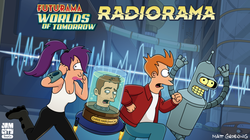 'Futurama' Returns in Podcast Form With Original Cast