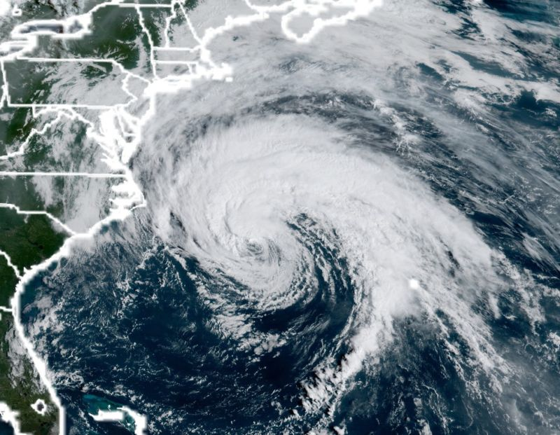 Hurricane Jose mostly stayed off shore, but it did bring some winds and rain to the northeastern United States.