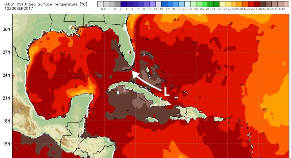 Irma will travel across warmer waters over the next 24-48 hours. If the center moves inland over Cuba, that should weaken the storm.