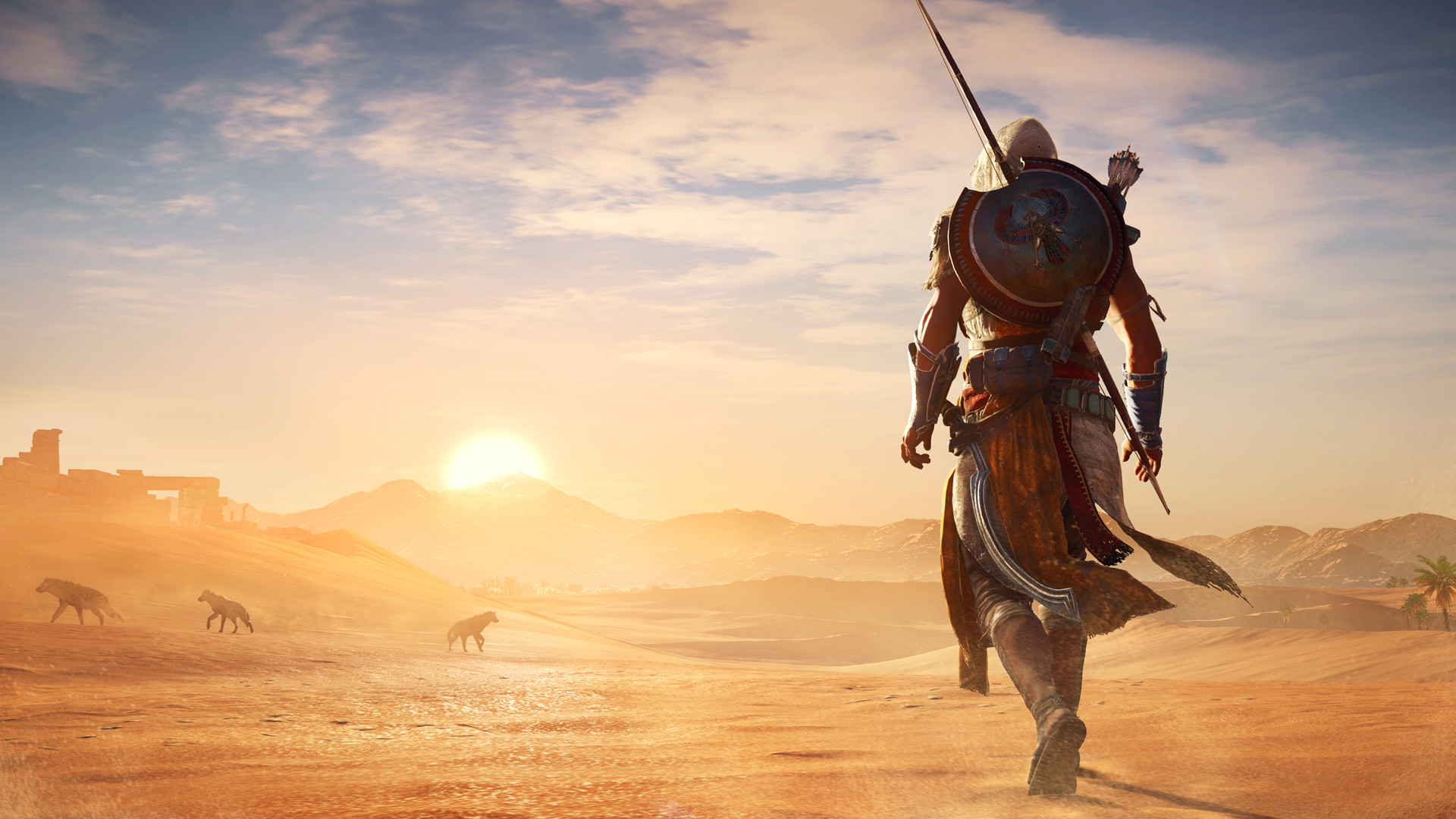 I'm currently mixed on the gameplay I've seen and played thus far for Ubisoft's <em>Assassin's Creed Origins</em>. But I'm in no way mad or upset about the gorgeous art direction and characters in the game. The hateful Steam forum posters who tried to attach a racist meme campaign to this game should take a good, hard look at themselves.