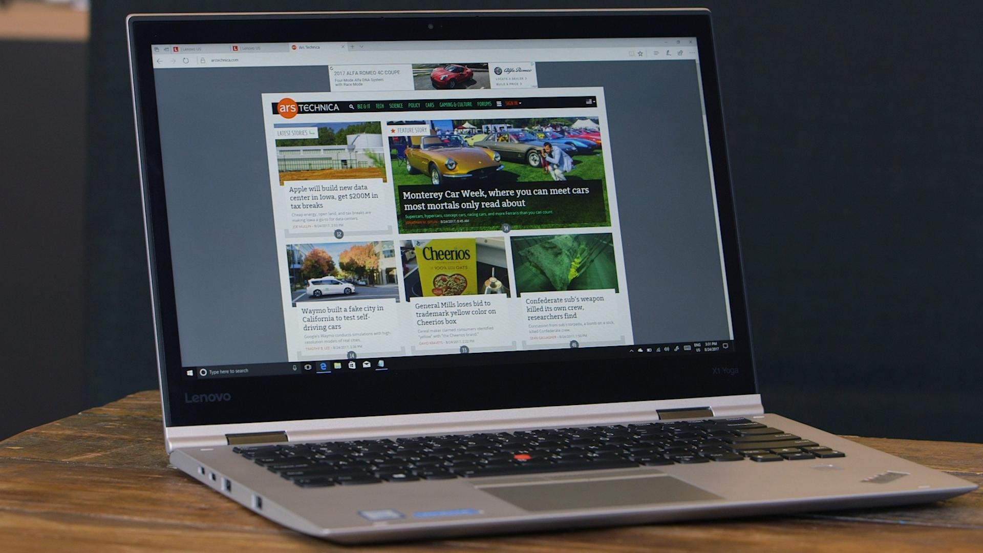 how to turn on lenovo yoga laptop