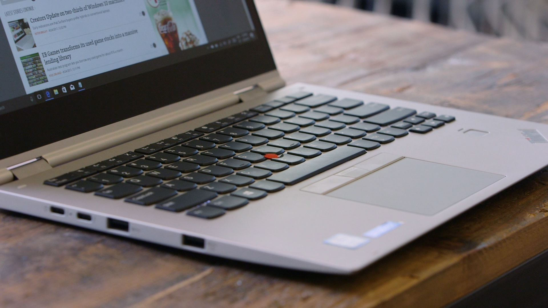 I've fallen in love with a laptop—the Lenovo ThinkPad X1 Yoga | Ars