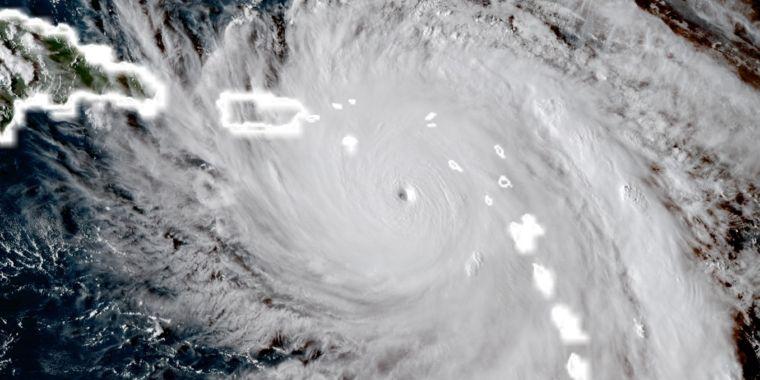 """Potentially catastrophic"" Hurricane Maria set to strike Puerto Rico"