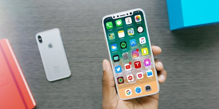 photo image iPhone X: Software leak appears to confirm name, features, and specs