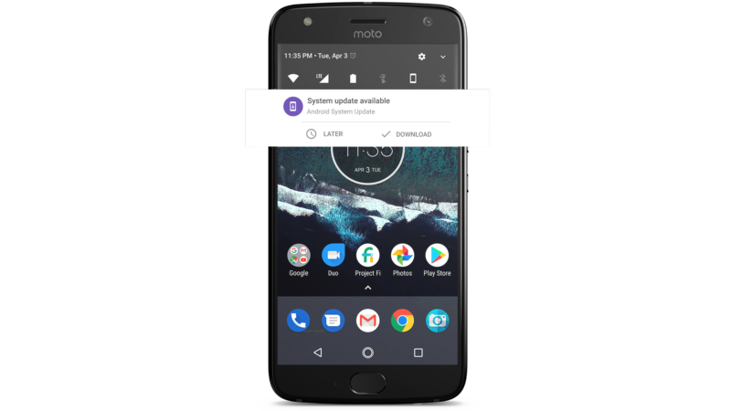 The Moto X4 brings Android One to the US and a non-Google phone to Project Fi