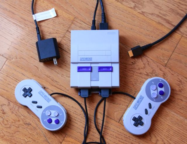 Everything you need to know about the Super NES Classic