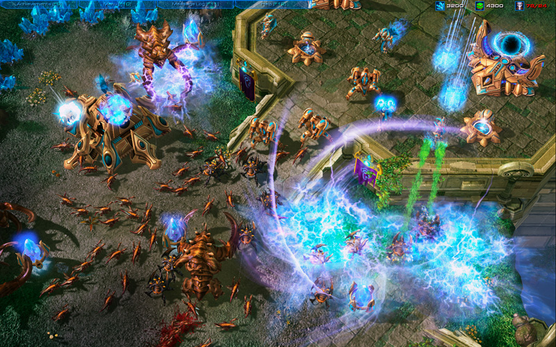 <em>StarCraft II</em> only requires a ho-hum 150 apm, effectively 2.5 actions per second, to be proficient. O_o