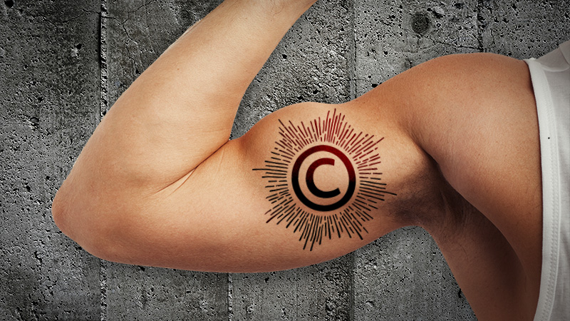 Can a tattoo on human flesh be copyrighted well soon find out enlarge maxwellsz