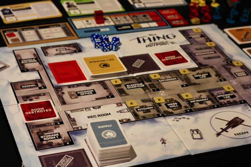 Behold the glory that is Mondo's <em>The Thing</em> board game: Infection in Outpost 31.