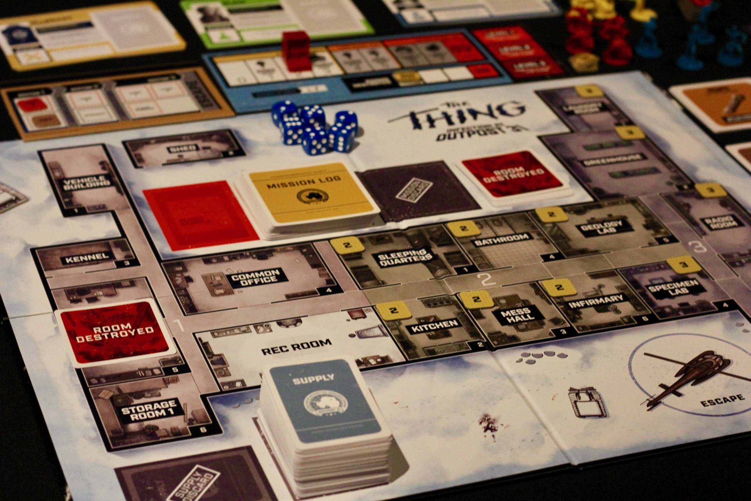 Lies Infection And Shapeshifting In New The Thing Board Game Ars