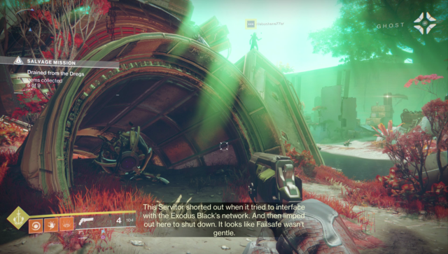 Already, Destiny 2 understands its fate, its purpose, its desti… you