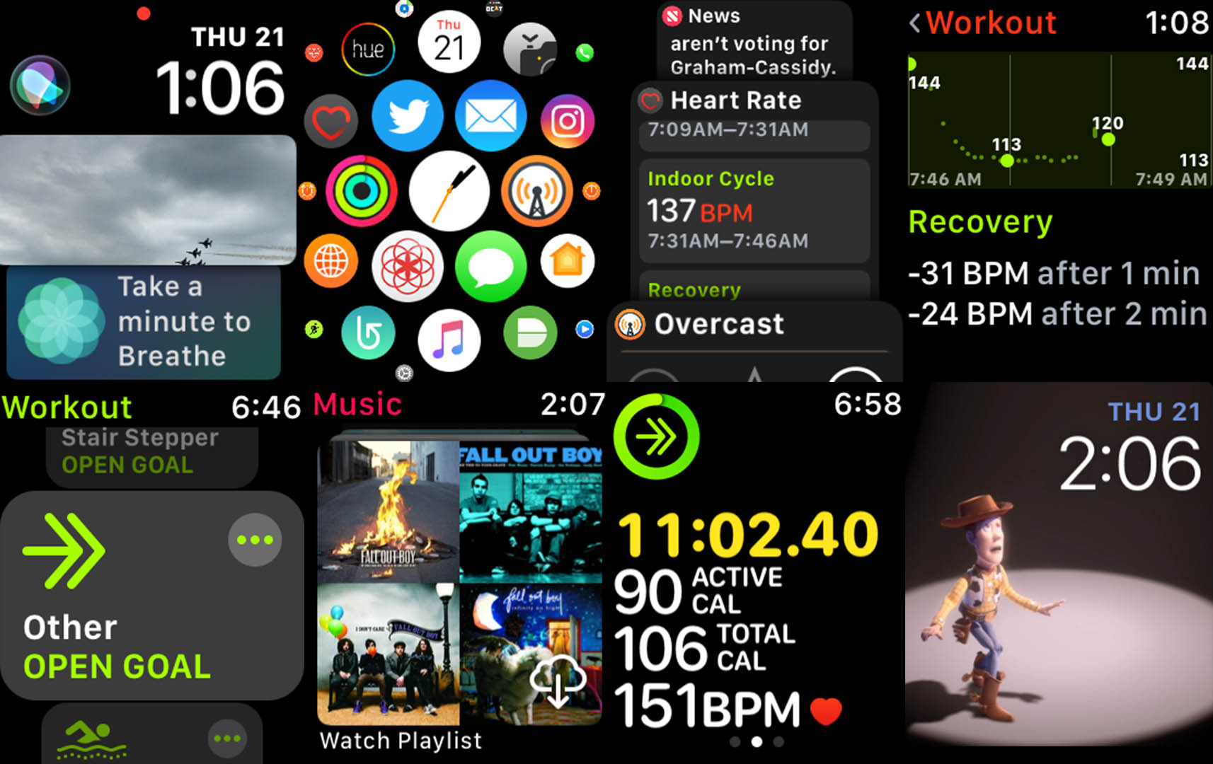 Review watchos 4 breathes new life into fitness side of the apple enlarge urtaz Image collections