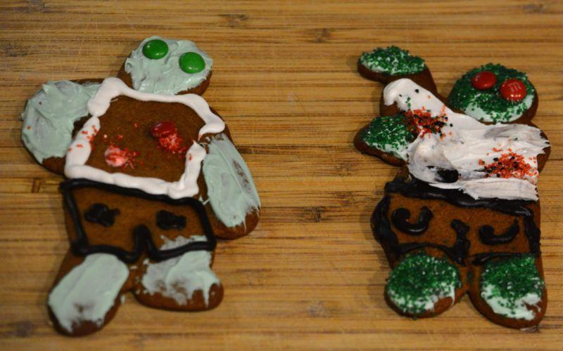 Zombie cookies.