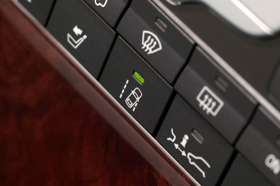 If your car has this button, don't turn it off; it may well save your life.