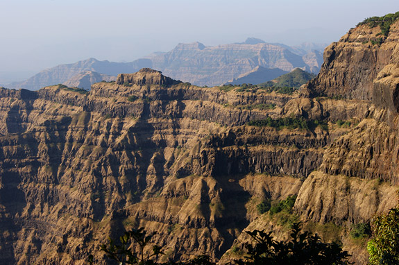 The pulses of volcanic activity are clearly visible in the layers of the Deccan Traps LIP.