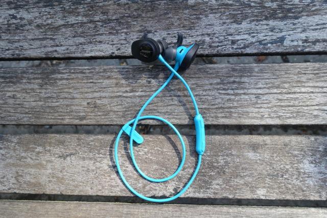 Bose's SoundSport Wireless earphones.