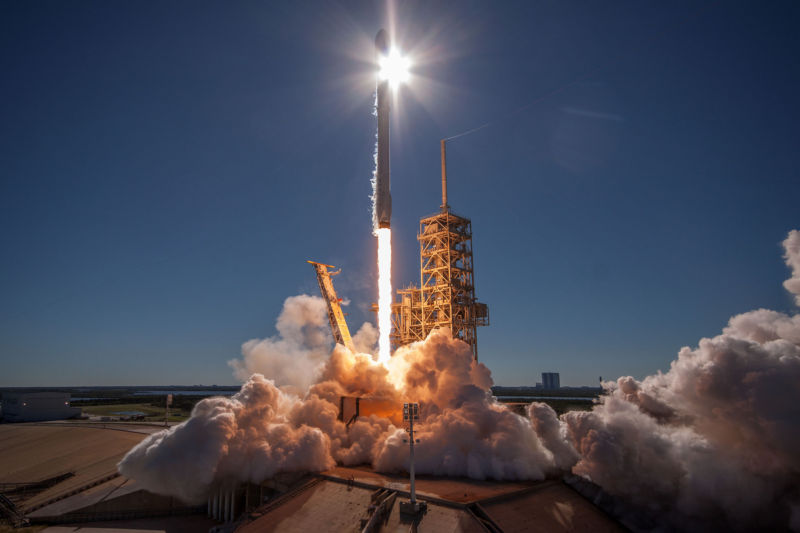 SpaceX has launched 16 rockets this year, including two national security missions for the US military.