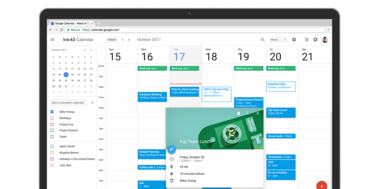 Google Calendar for Web gets its first redesign since 2011