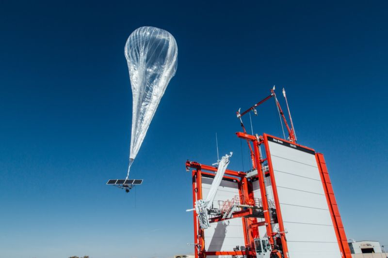 A balloon launches from Nevada on its way to Puerto Rico.