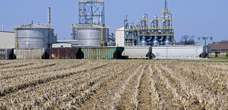 Ethanol Plant, Milton, Wisconsin.