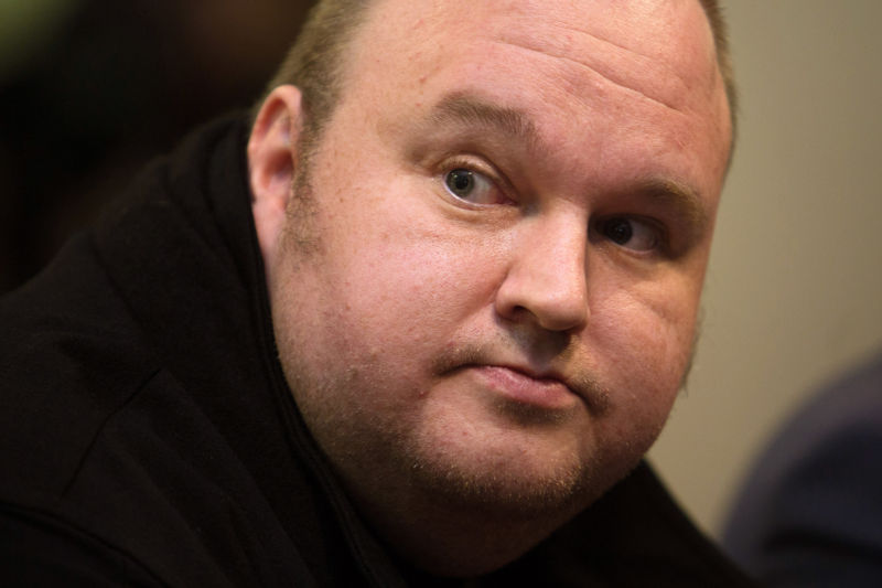 Kim Dotcom, founder of Megaupload, seen here on Monday, Sept. 15, 2014.