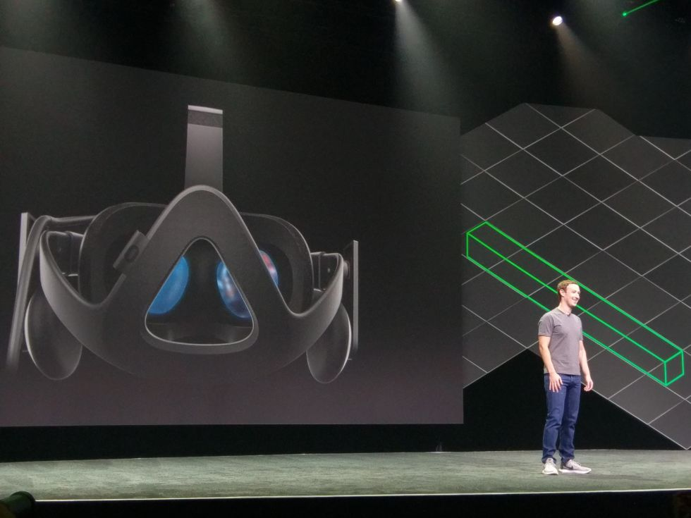 Mark Zuckerberg at Oculus Connect 4 in San Jose, California.