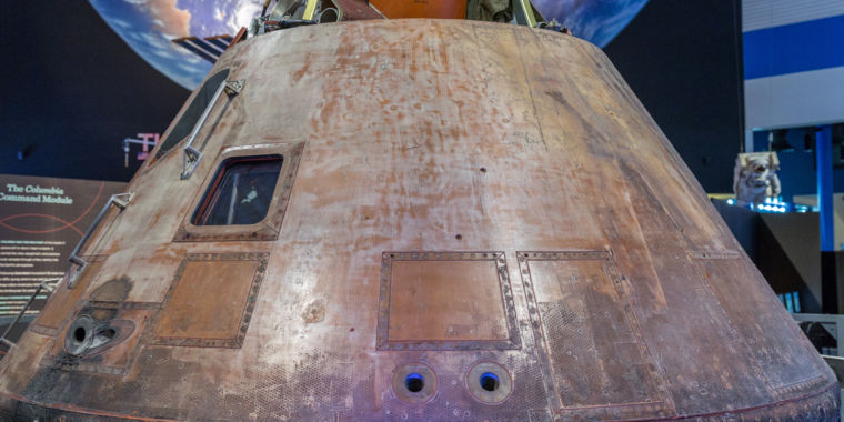 After nearly half a century, the Apollo 11 spacecraft is on the move