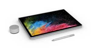 Put the screen on backwards, and Microsoft calls it Studio mode. It's at a similar angle to the even larger Surface Studio.