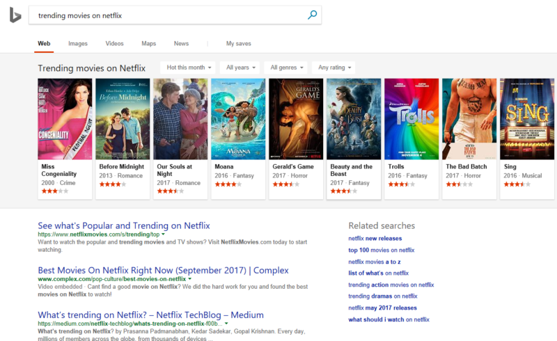 New Bing updates make search results as visual as Google