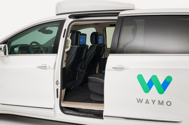 Today, Waymo cars have safety drivers when they're on public streets. But the company envisions a future with no one in the driver's seat.