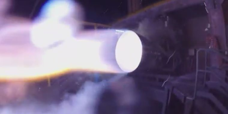 arstechnica.com - Eric Berger - Blue Origin has successfully tested its powerful BE-4 rocket engine
