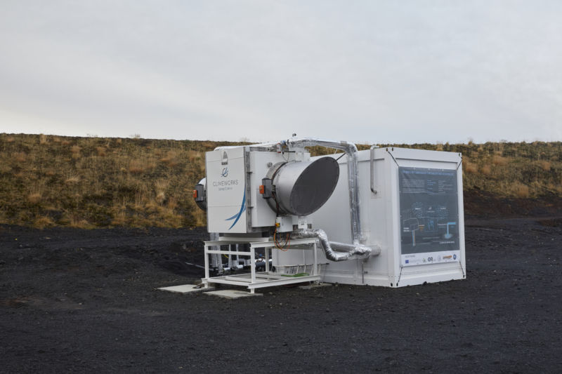 pilot plant in Iceland