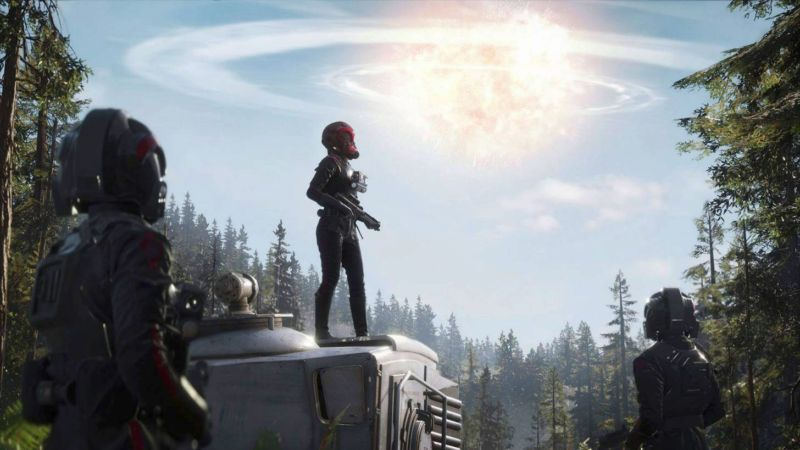 This shot is from <em>Star Wars: Battlefront II</em>'s single-player mode. It's not yet clear whether or how much loot boxes will figure into this mode, so let's focus on what we DO know thanks to Tuesday's announcement.