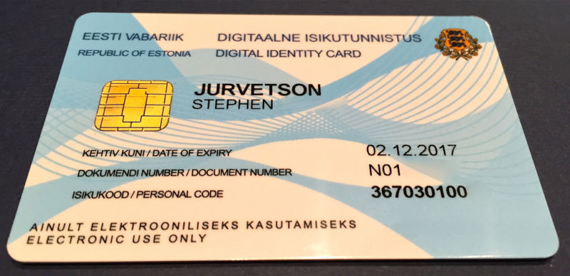 750,000 Estonian cards that look like this use a 2048-bit RSA key that can be factored in a matter of days.