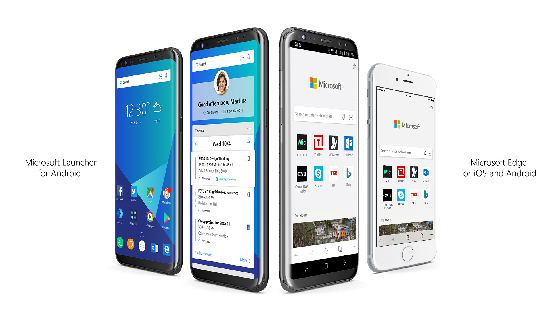Microsoft's Edge browser now has iOS, Android versions ...