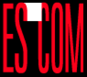 ESCOM Computers' logo, circa 1995.