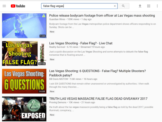Return of the algorithm monster: YouTube auto-promoted conspiracy
